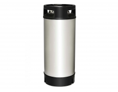 Stainless steel barrel 9 liters NC with rubber collar